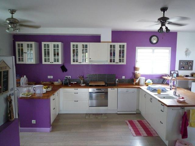 Villa vendre la rivi re for Cuisine ouverte vmc